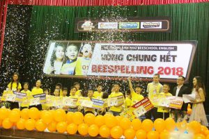 Kết quả cuộc thi BEE SPELLING CONTEST 2018