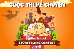 """Thông báo về cuộc thi"""" BeeSchool Storytelling Contest 2018″"""